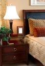 Capricorn sign: elegant, traditional bedroom