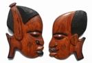 Sagittarius sign: African wood carvings
