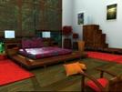 Sagittarius sign: ethnic bedroom