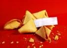 Romantic ideas: fortune cookies