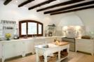 Virgo sign: white kitchen