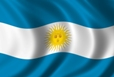 Virtual romantic  vacation: Argentinean Flag