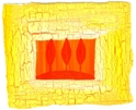 Leo sign: Bright yellows and golden oranges